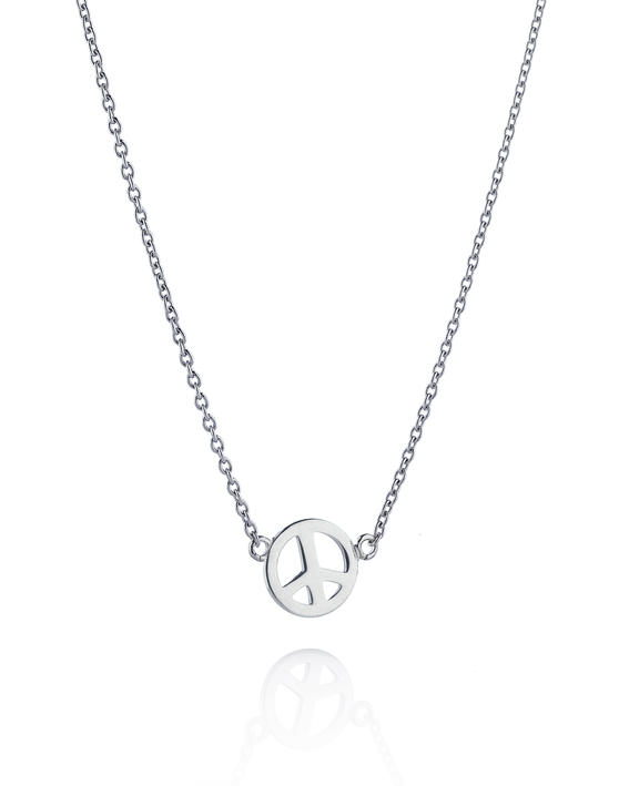 Mini Peace Necklace 10-100-00561(3)