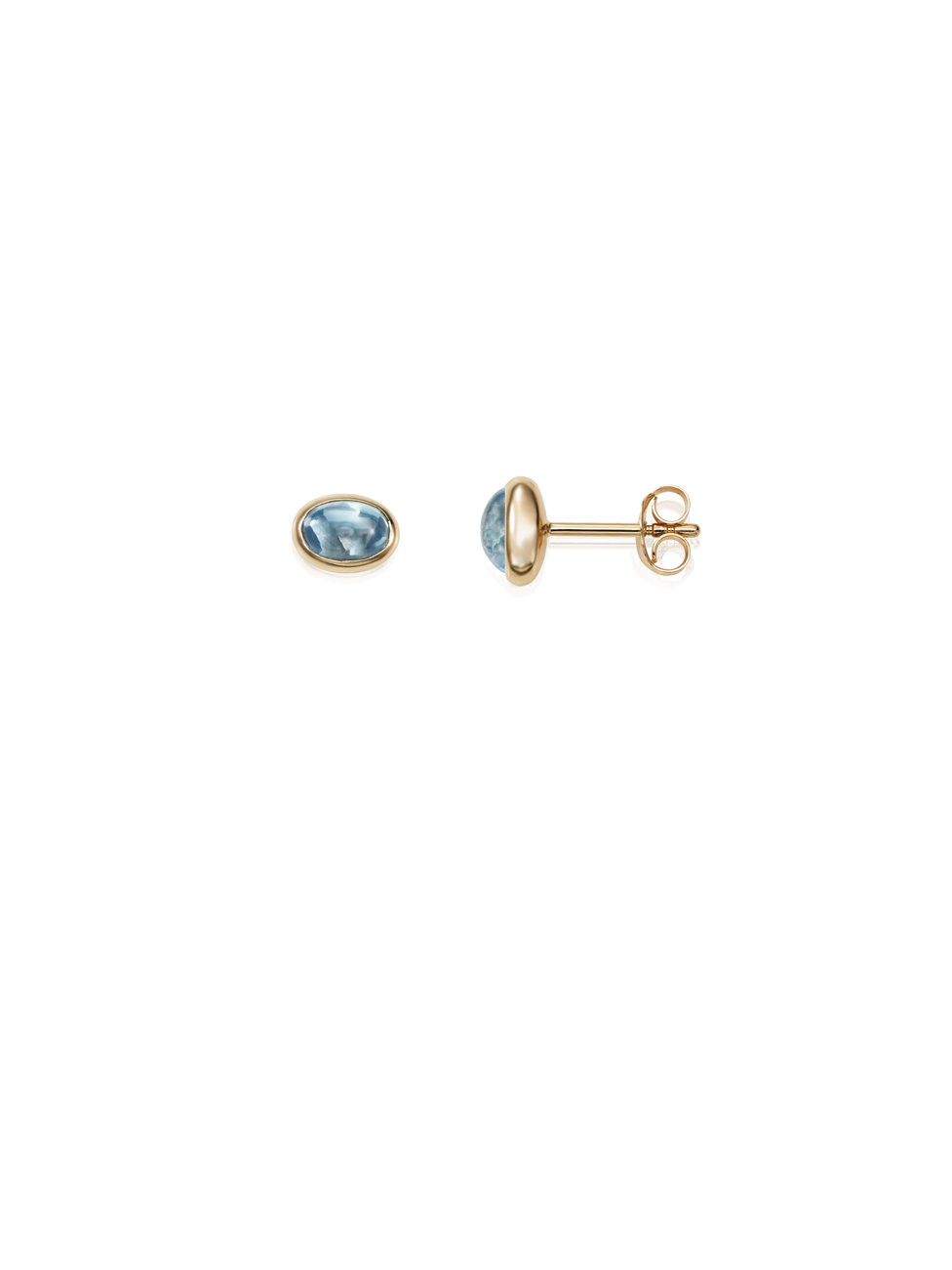 Love Bead Ear Topaz 12-101-01451(2)