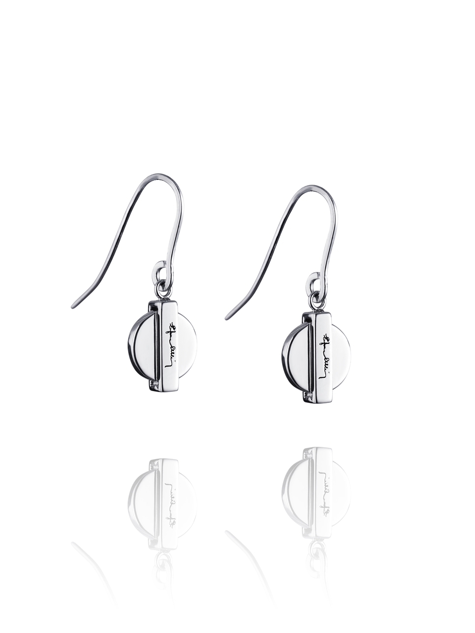 Silver Coin Earrings 12-100-01038(1)