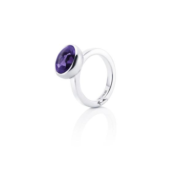 Love Bead Grande Ring - Amethyst 13-100-00444(1)