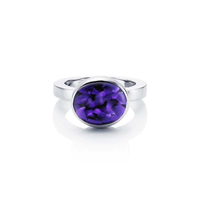 Love Bead Grande Ring - Amethyst 13-100-00444(3)