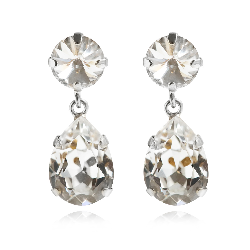 ClassicDropEarrings_Crystal_Rhodium