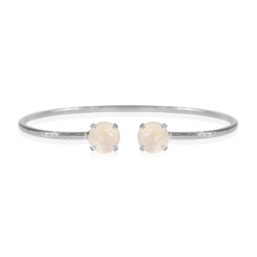 Classic-petite-stud-bracelet-light-DeLite_Rhodium