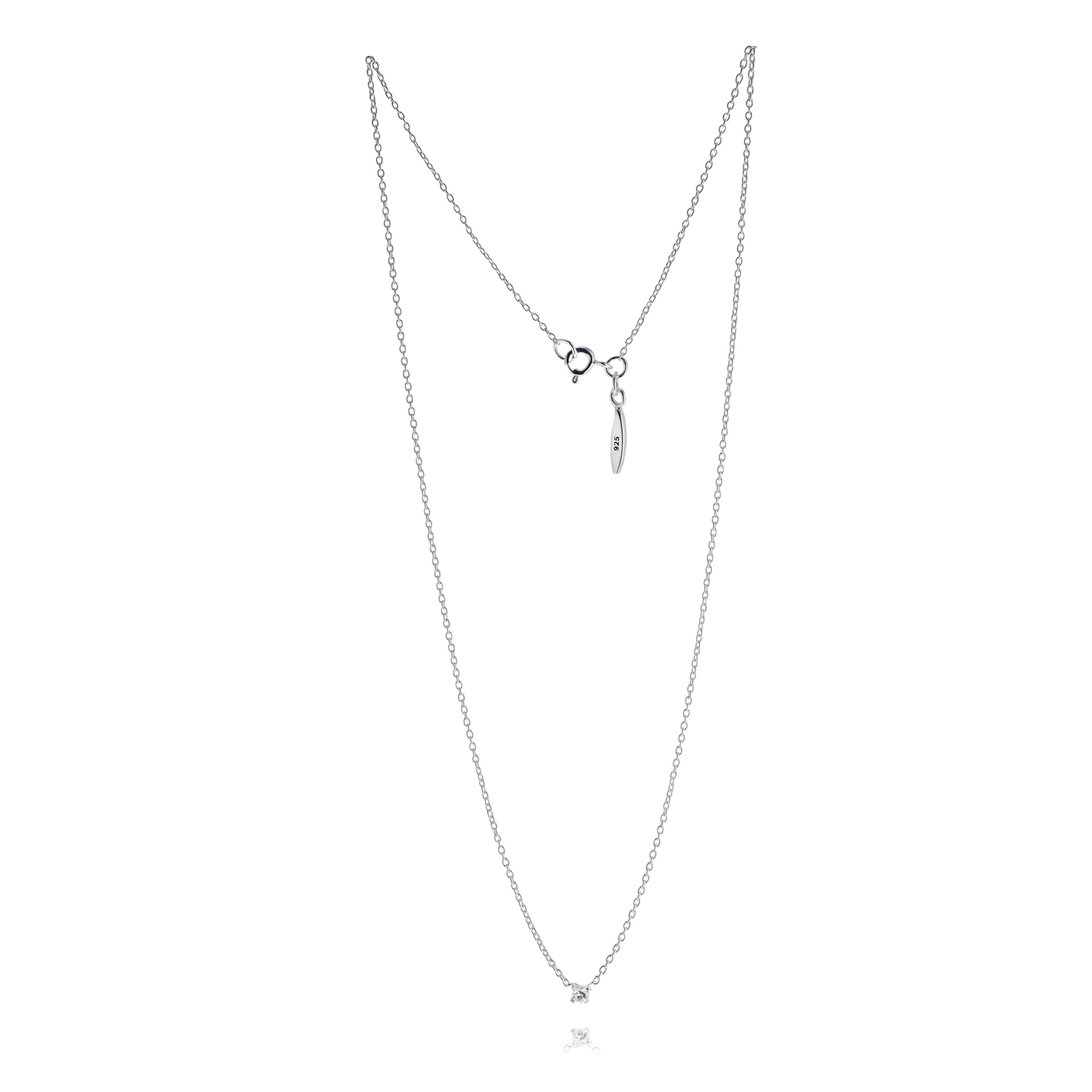 Diamond Sky drop necklace