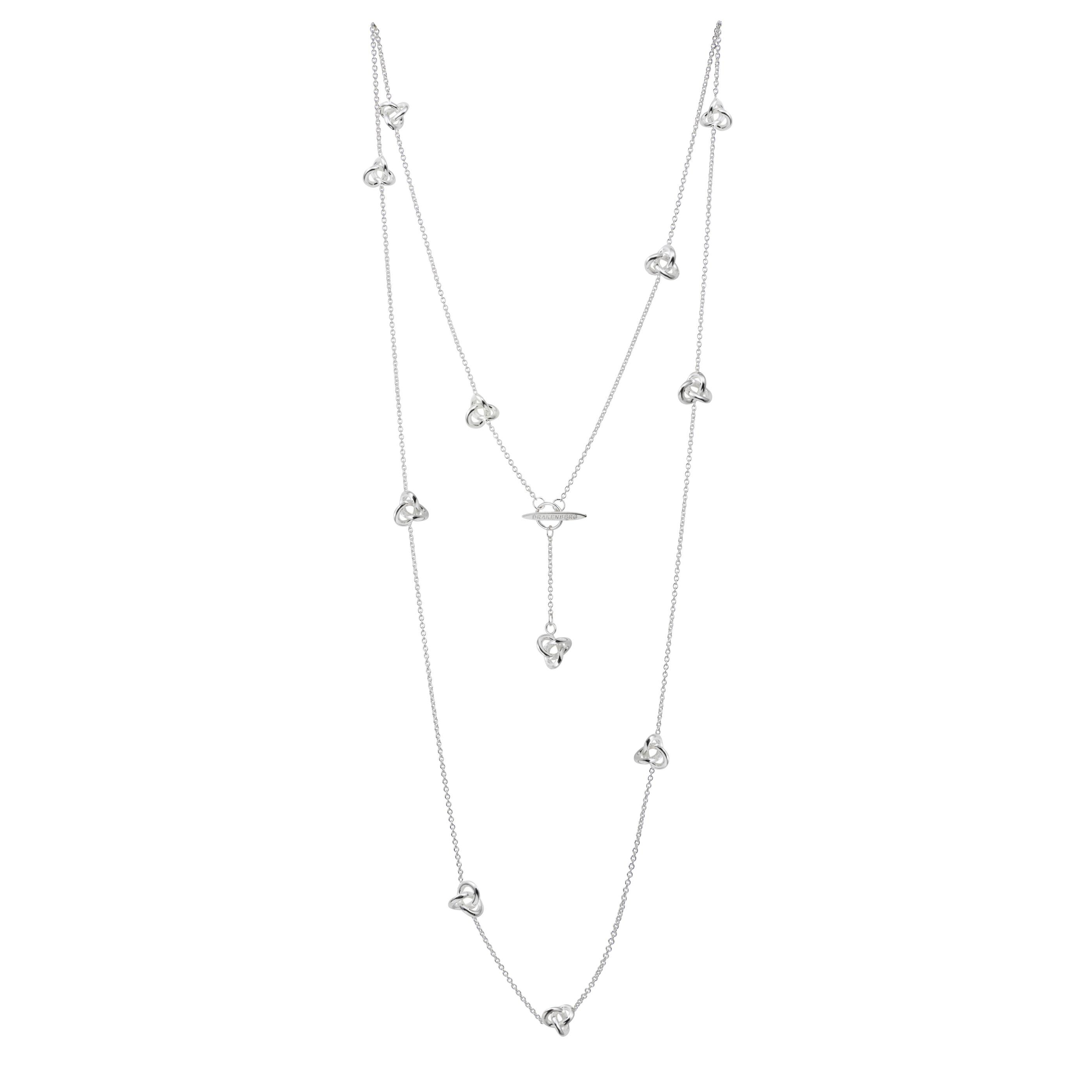 Le Knot medium necklace long