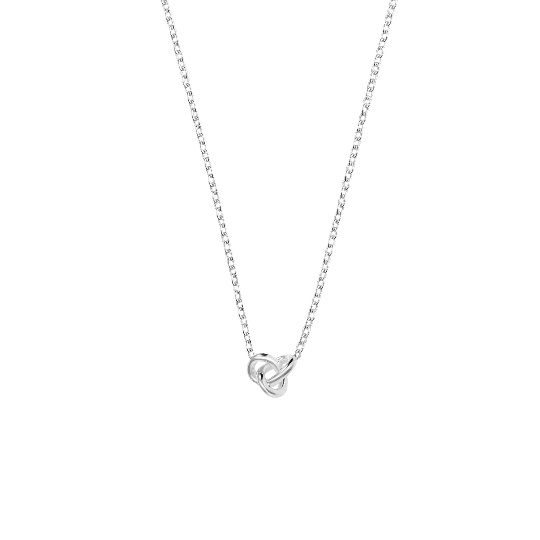 Le Knot drop necklace