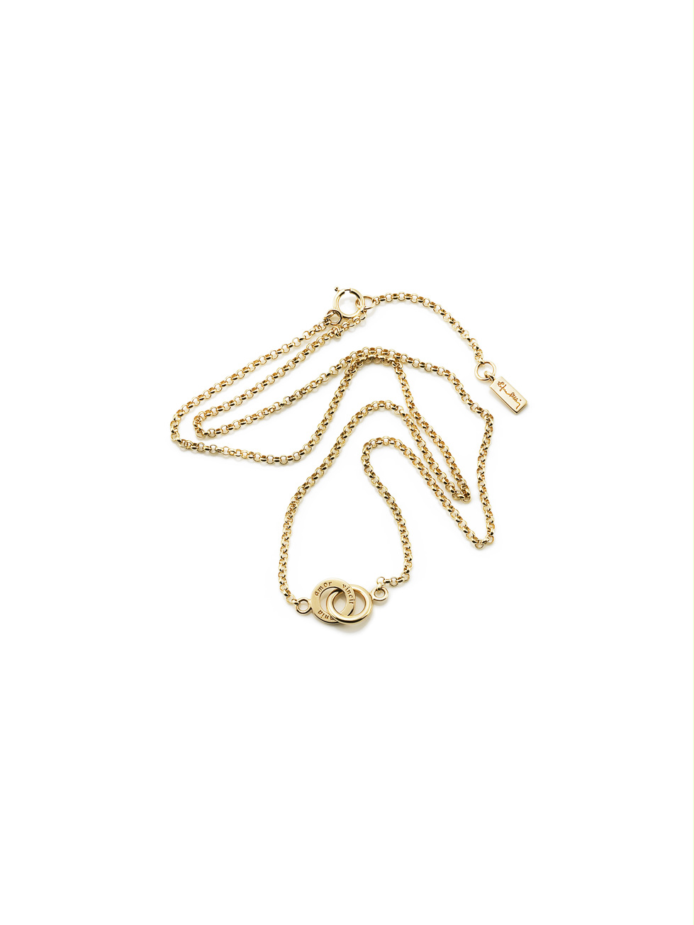Mini Twosome Necklace 10-101-00565(1)
