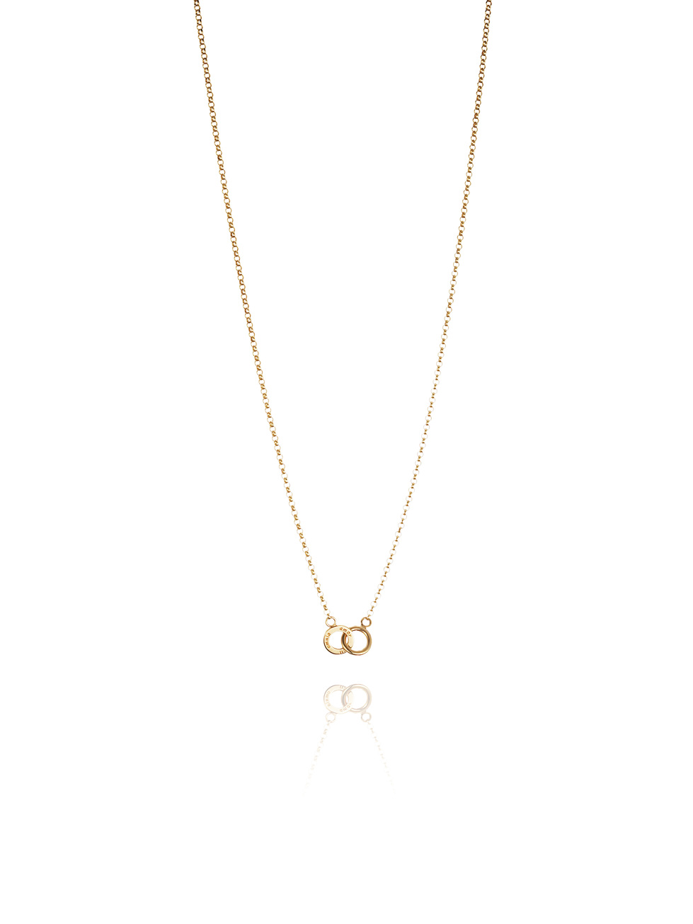 Mini Twosome Necklace 10-101-00565(2)