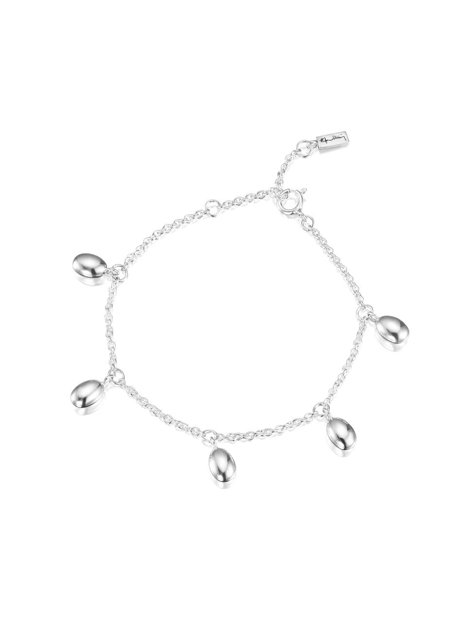 Love Beads Plain Bracelet 14-100-01425(2)