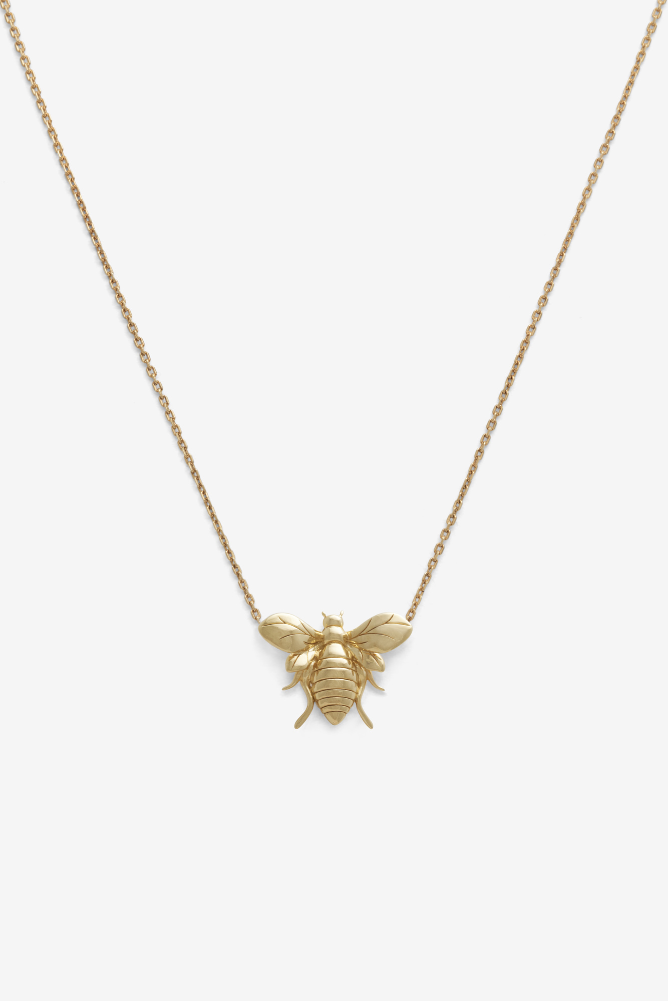 19-03-5-1-002-113-10_Bee Necklace_Gold Plated_02
