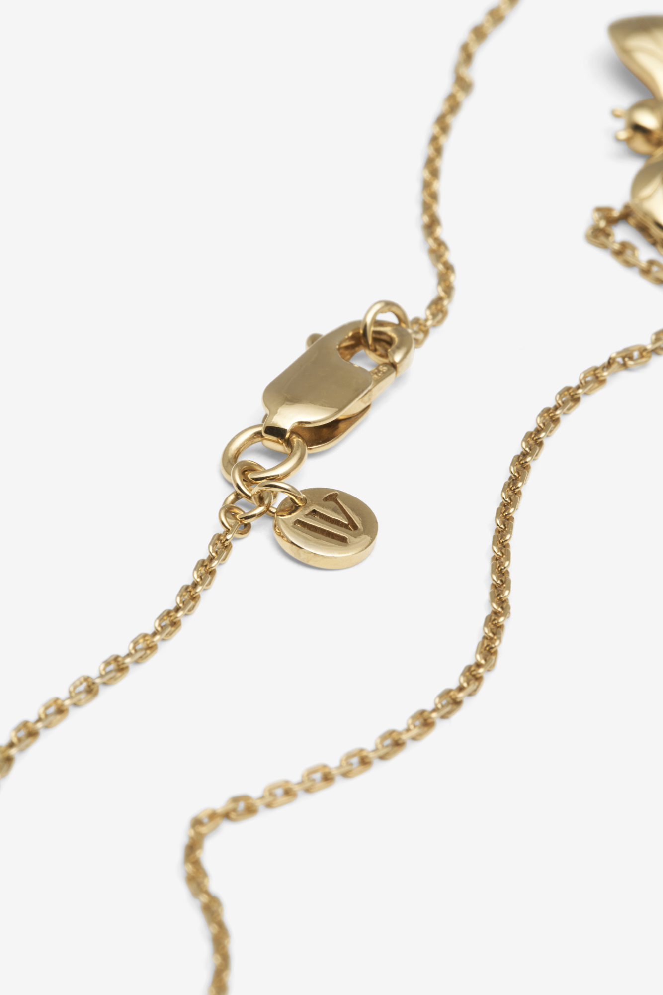 19-03-5-1-002-113-10_Bee Necklace_Gold Plated_03