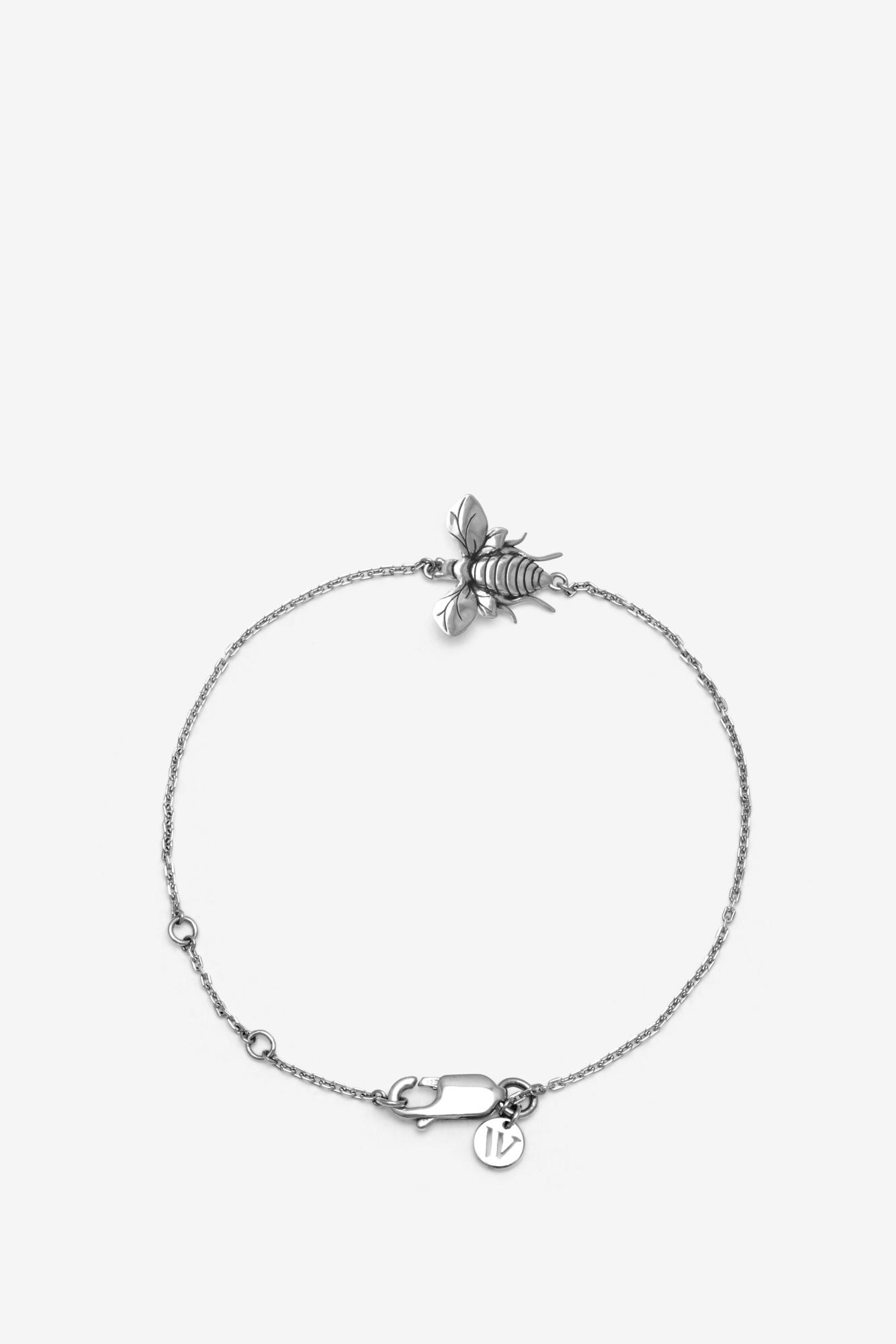 19-03-5-1-004-114-12_Bee Bracelet_Silver_03