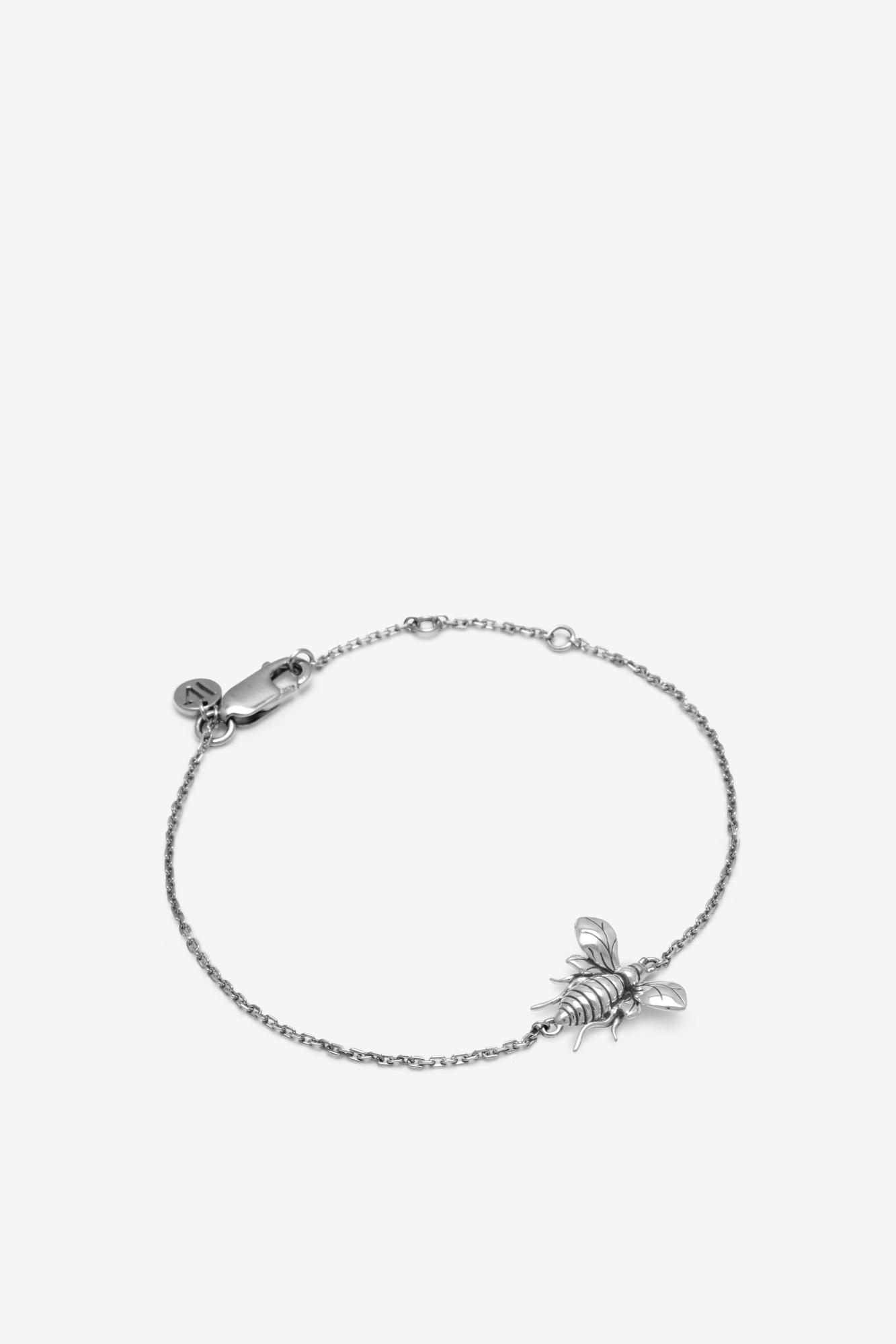 19-03-5-1-004-114-12_Bee Bracelet_Silver_04