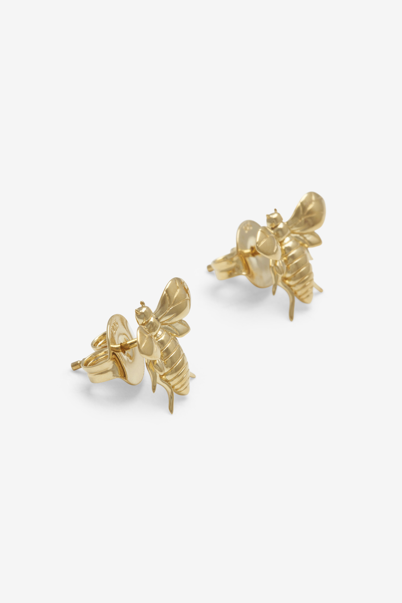19-03-5-1-001-113-09_Bee Earring_Gold Plated_04