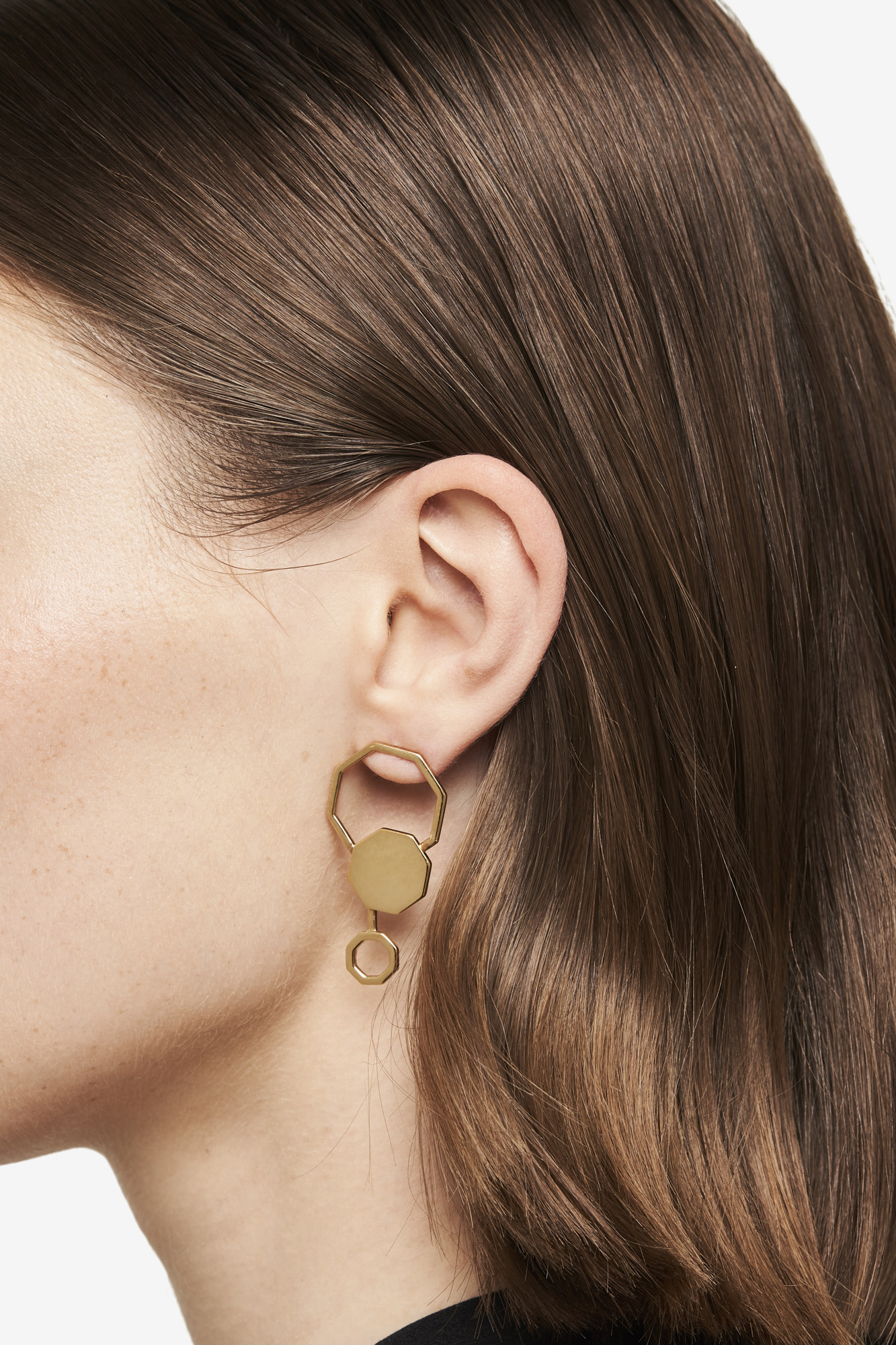 19-03-5-1-006-113-09_Beehaive Earring_Gold Plated_02