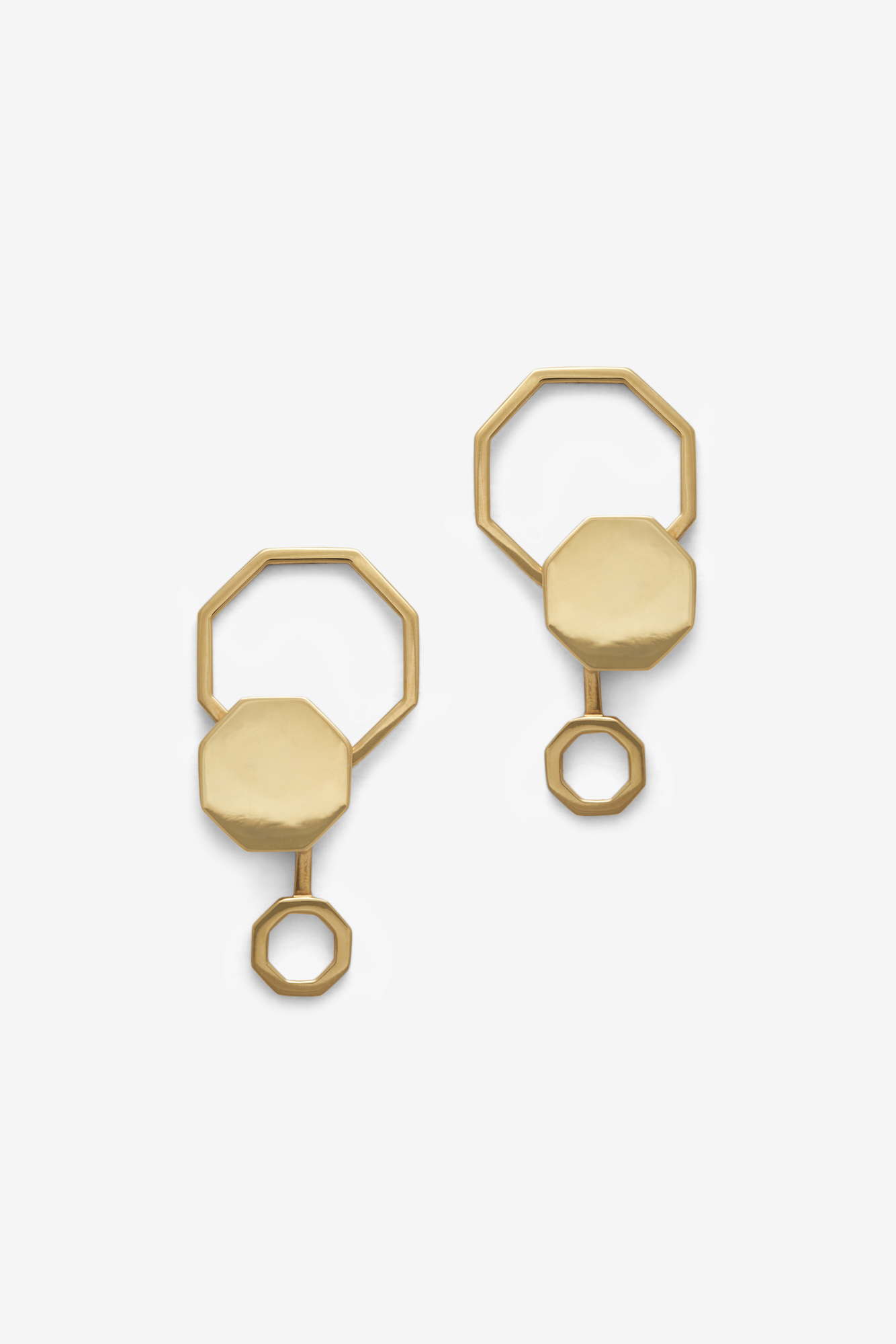 19-03-5-1-006-113-09_Beehaive Earring_Gold Plated_03