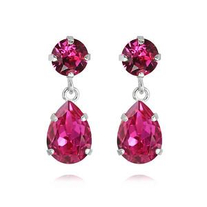 Mini-drop-Earrings-Fuchsia-Rhodium-S
