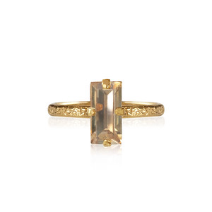 Baguette Ring / Golden Shadow