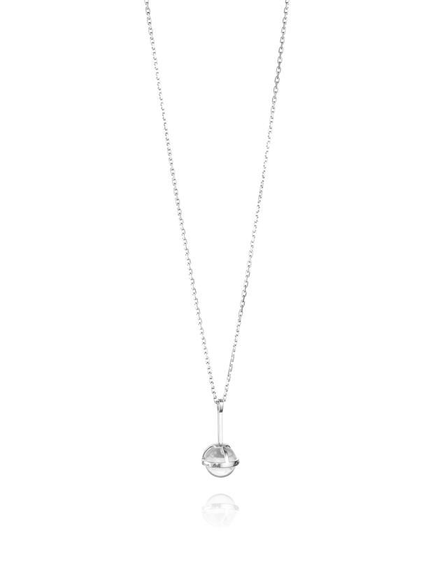 Amor Fati Globe Pendant - Crystal Quartz 11-100-01518(2)