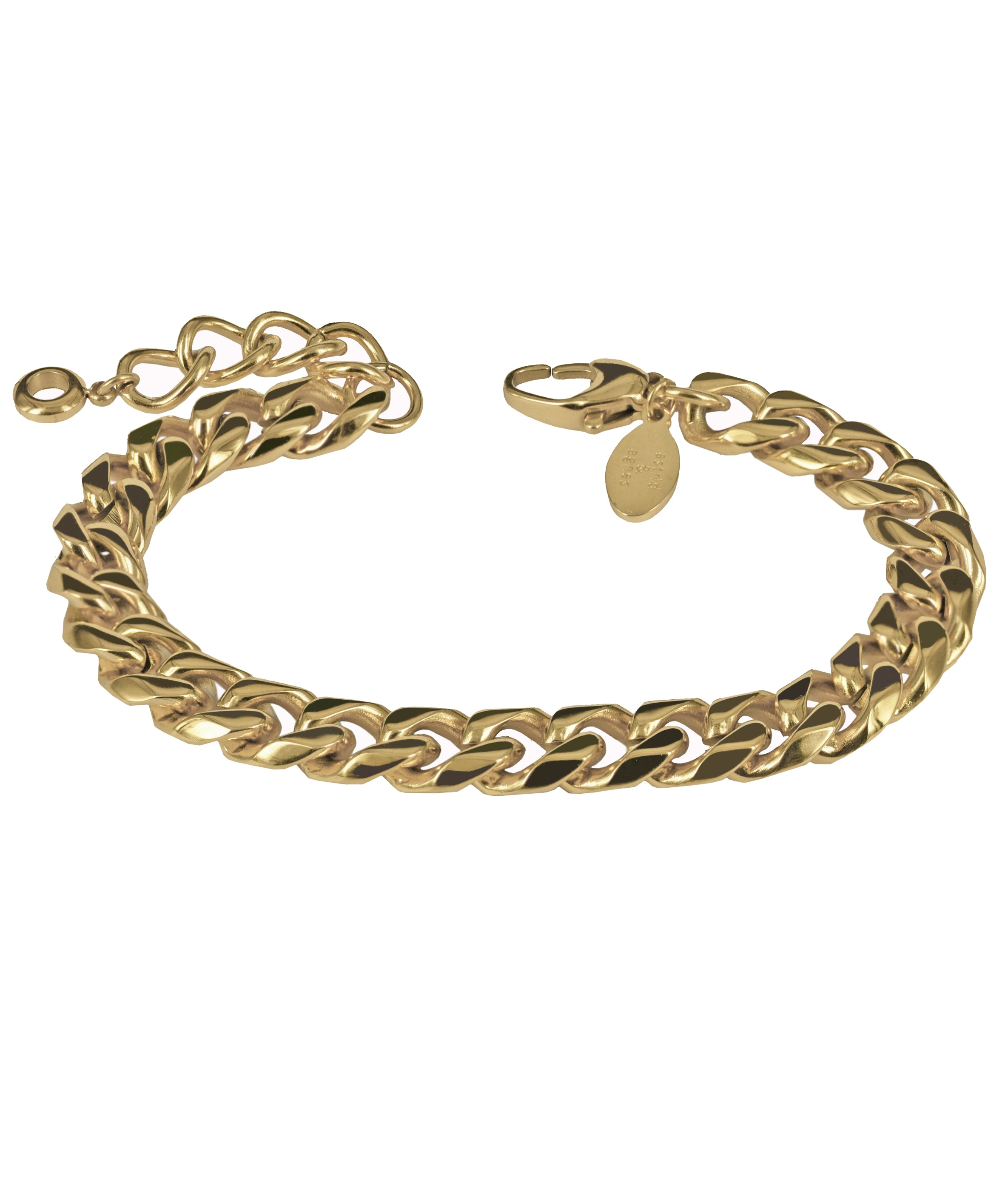 HAILEY-GoldbraceletwebbOK