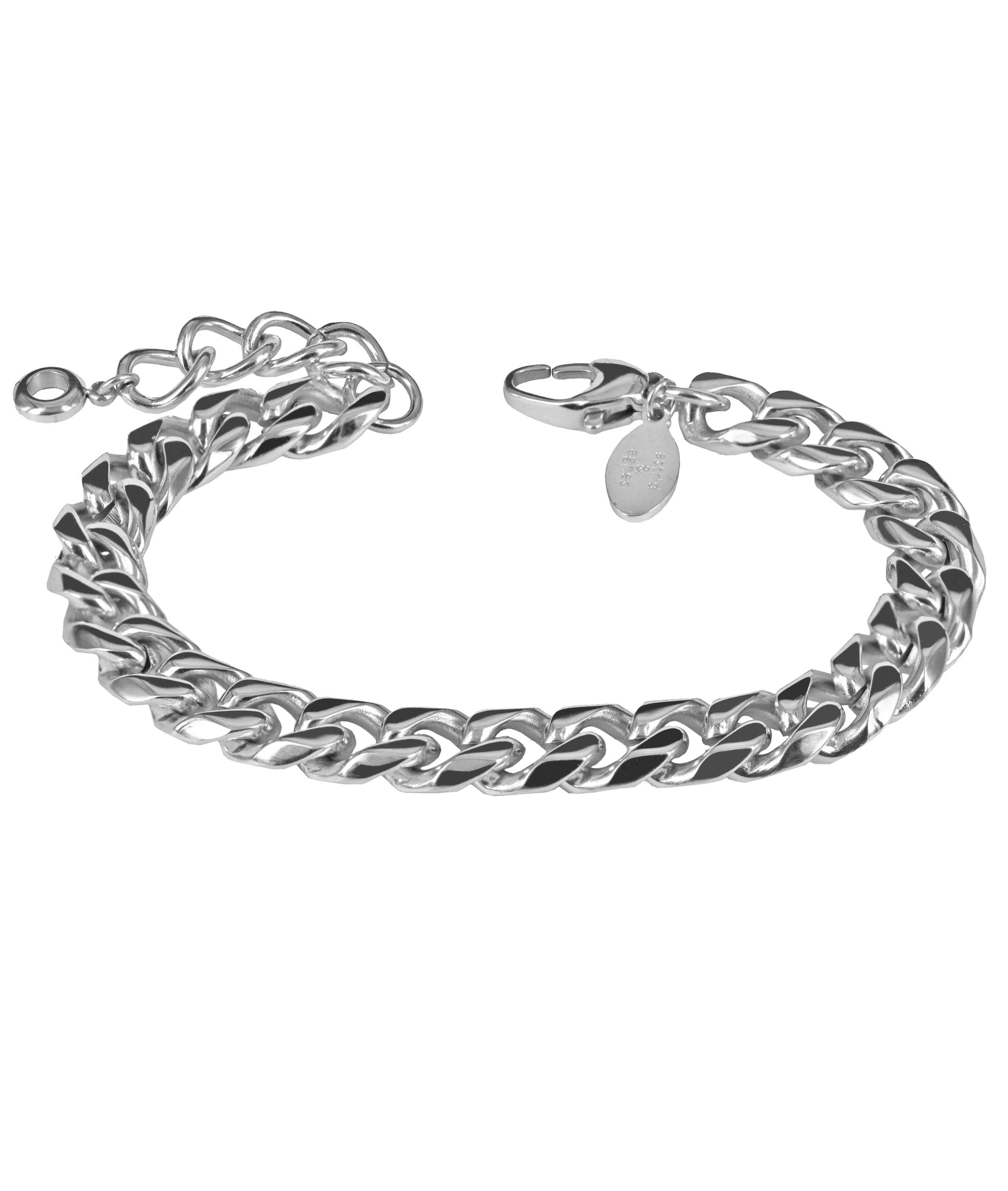 HAILEY-SteelbraceletwebbOK
