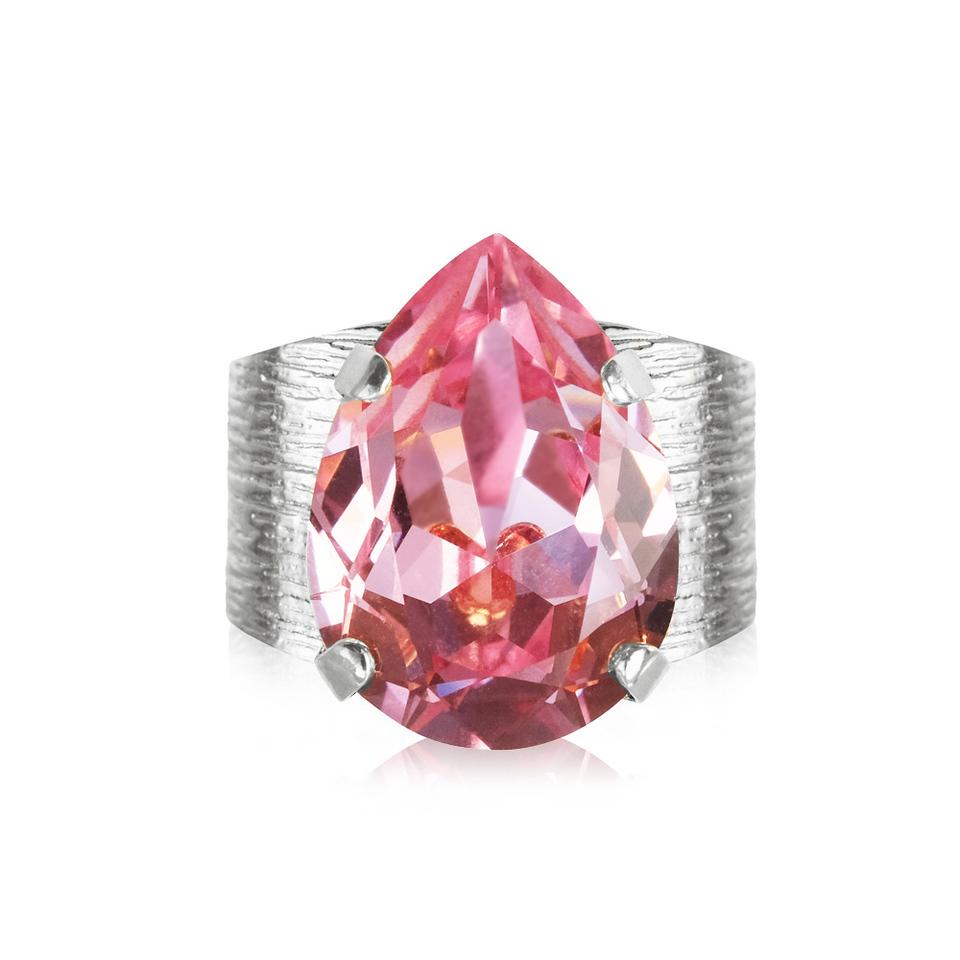 classic drop ring light rose