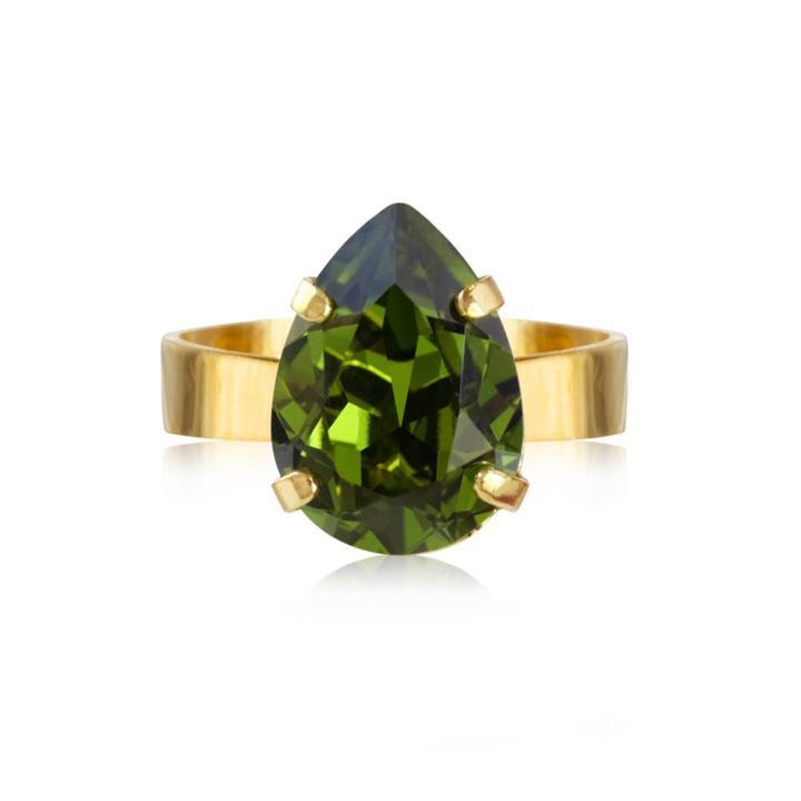 Mini drop ring olivin