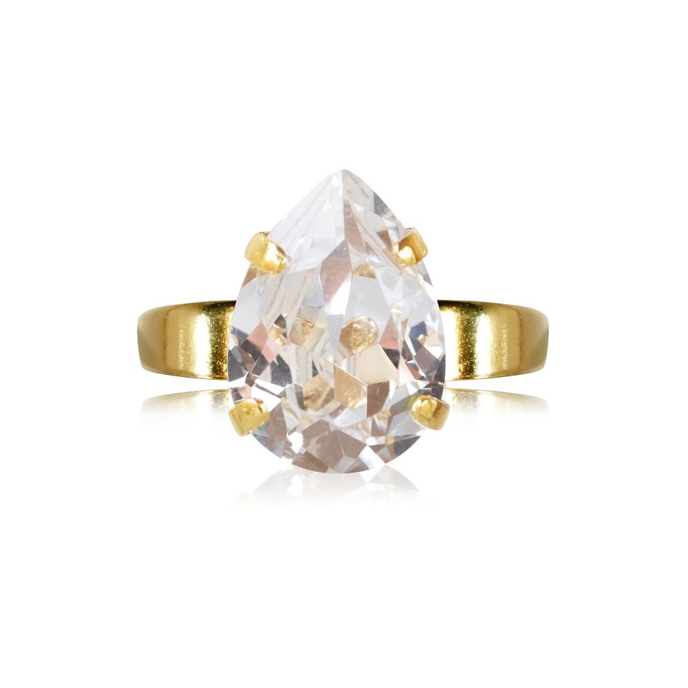 Mini drop ring crystal