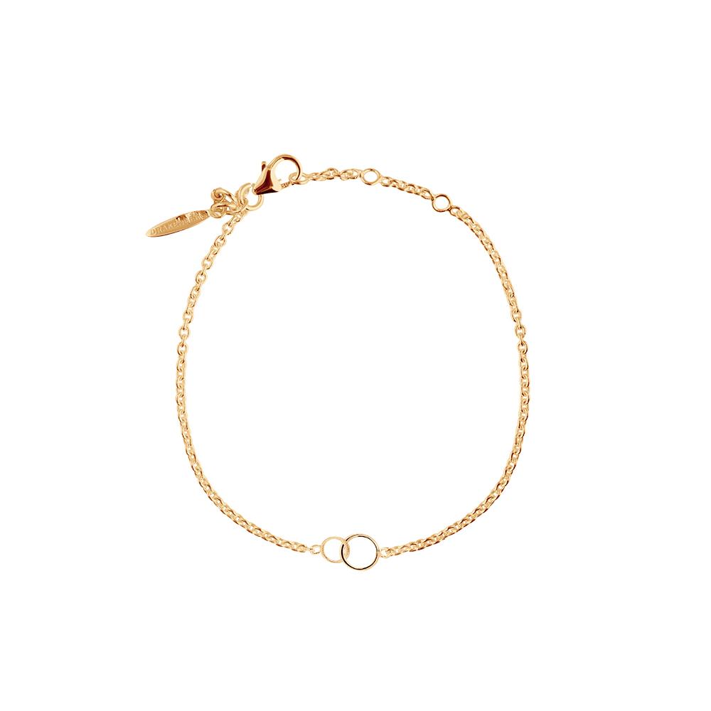 Les-Amis-drop-bracelet-gold