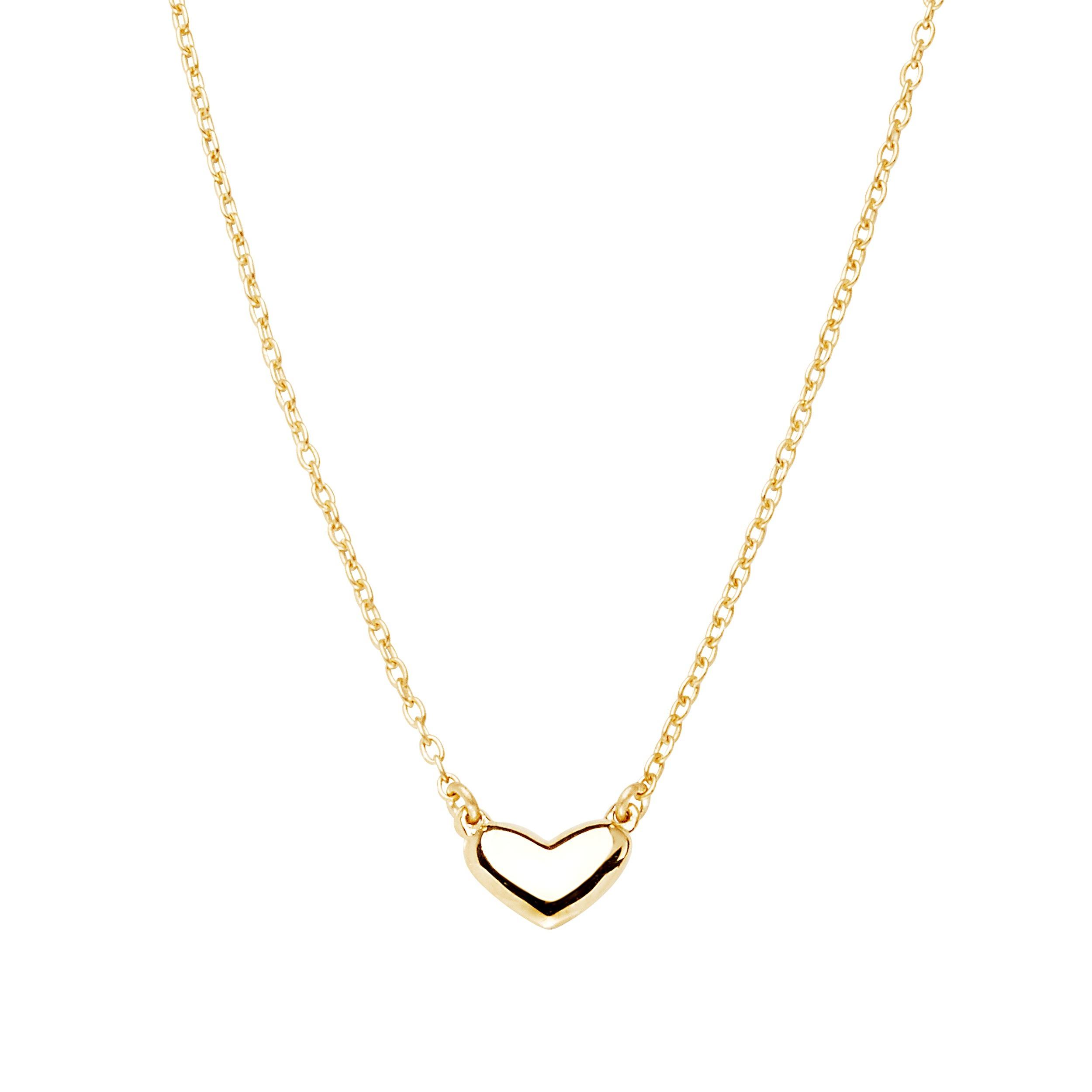 Loving heart medium single necklace gold 4790 SEK