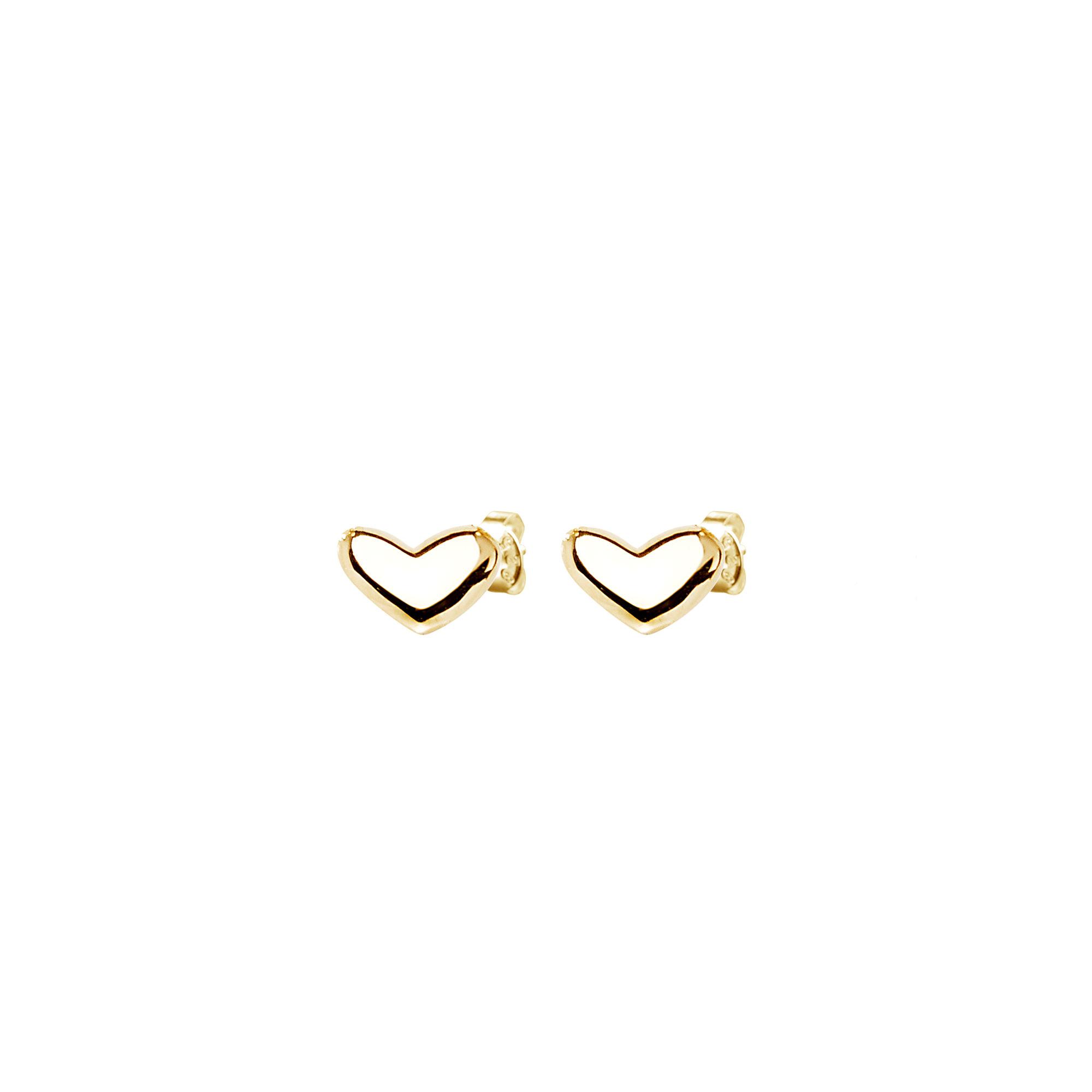 Loving Heart medium Studs gold 2990 SEK