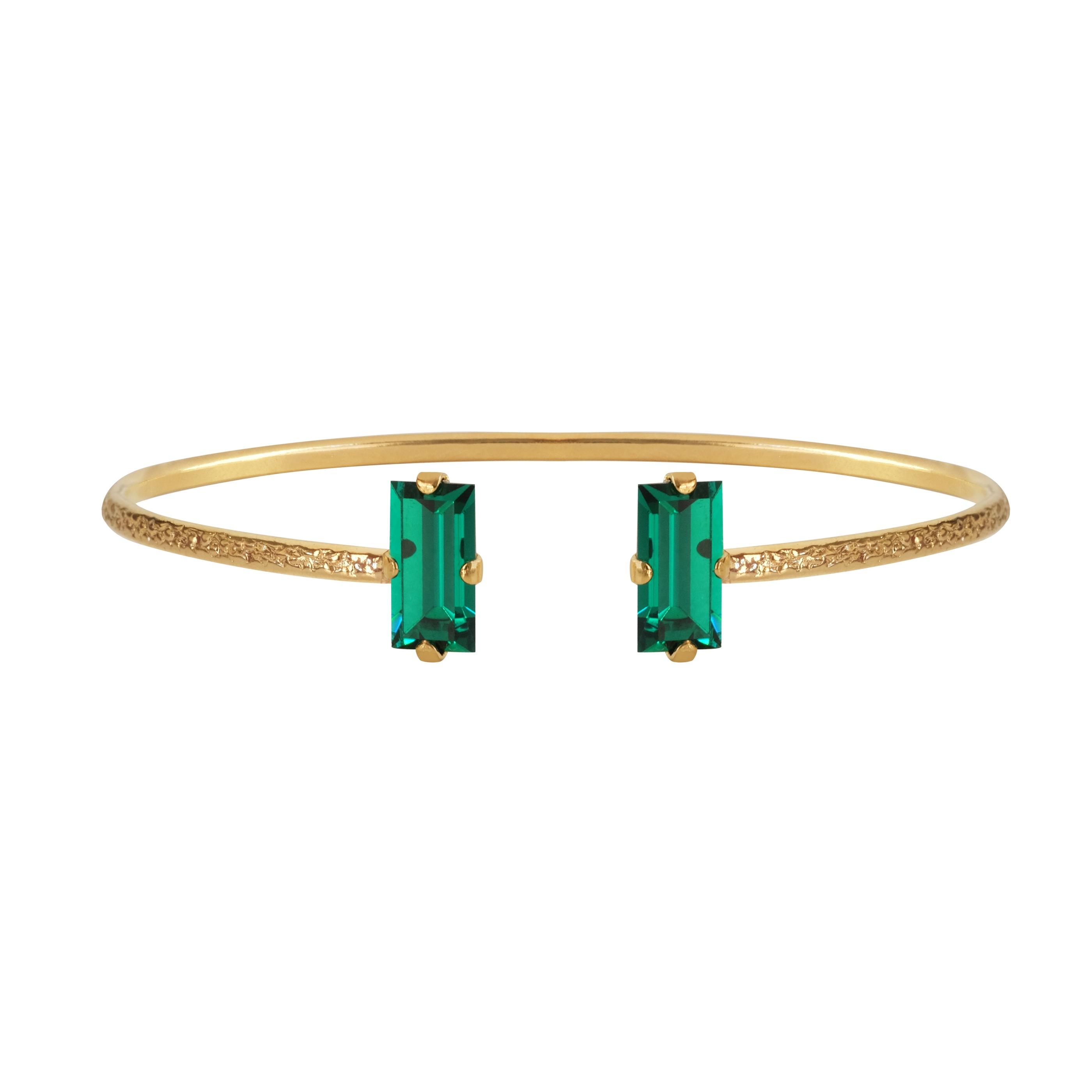 Baguette_bracelet_Emerald_Gold