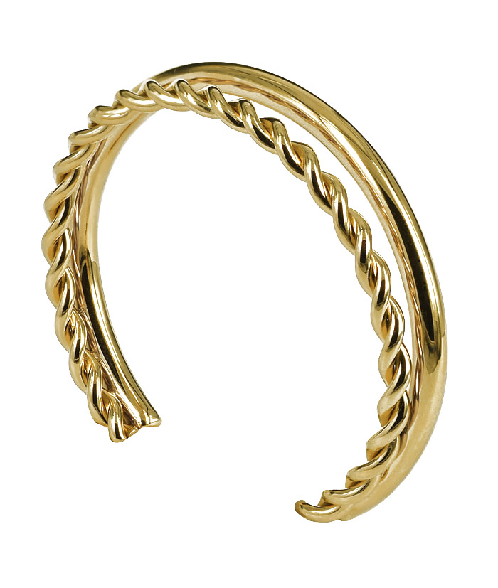 TWIST_Bangle_Guld_webb