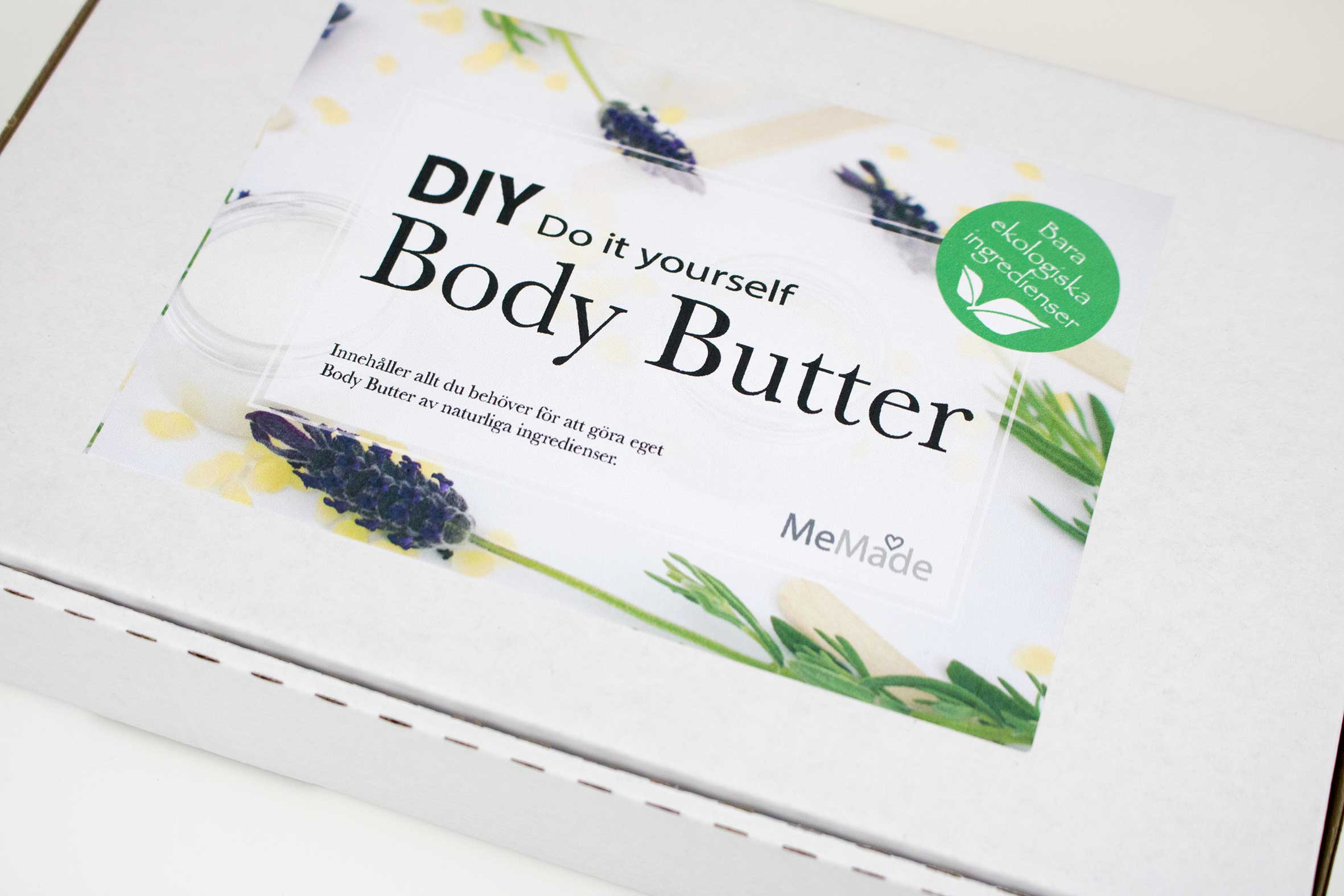 Body Butter med lavendel
