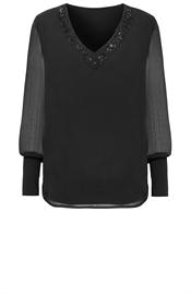 Nimah tunic black - S