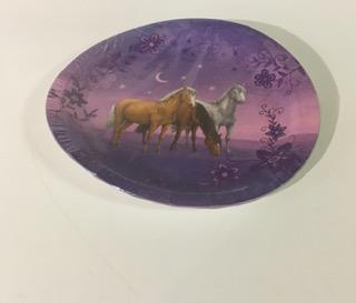 Hästtema - tallrikar (6 st)