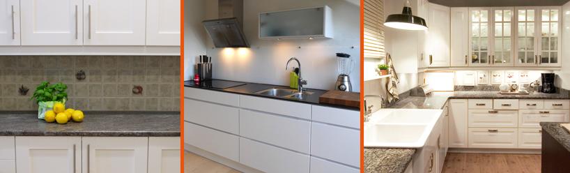 Vi målar dina gamla köksluckor men du kan också måttbeställa köksluckor