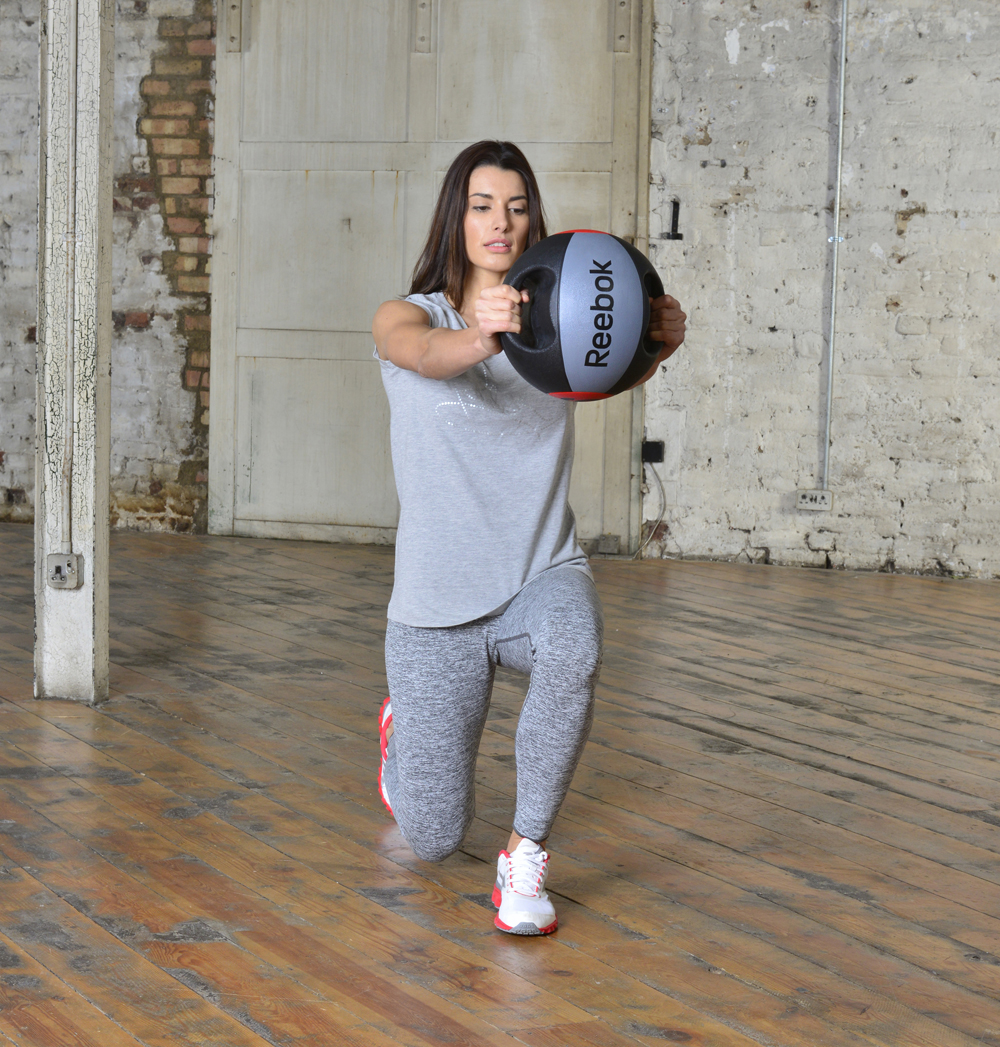 Reebok Medicine Ball double grip