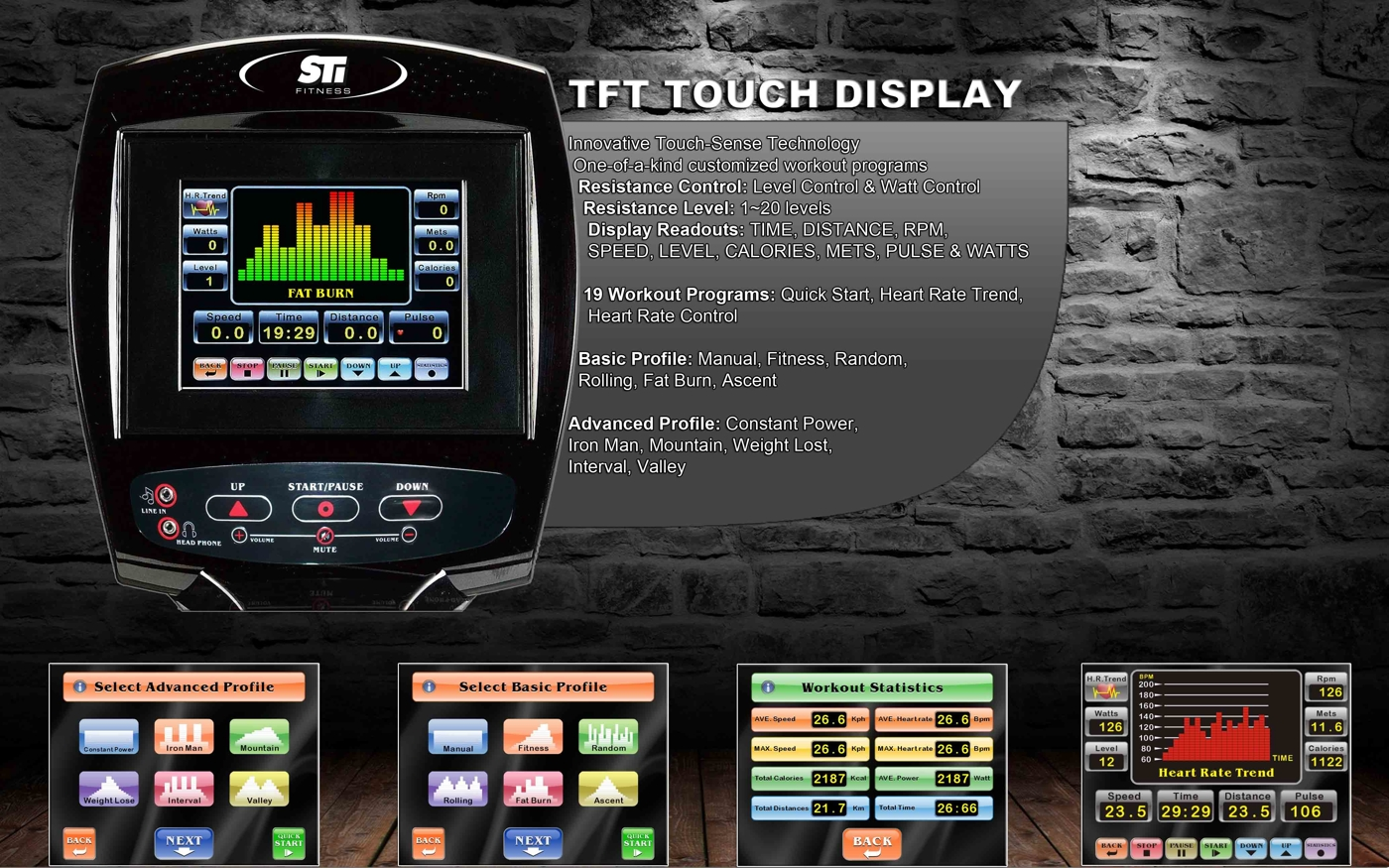 TFT Touch display liten