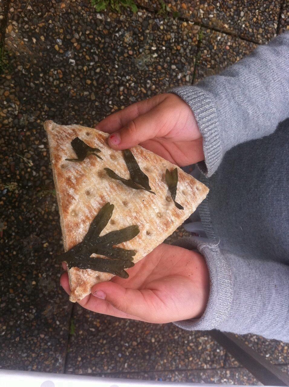 Tångsmörgås med barn