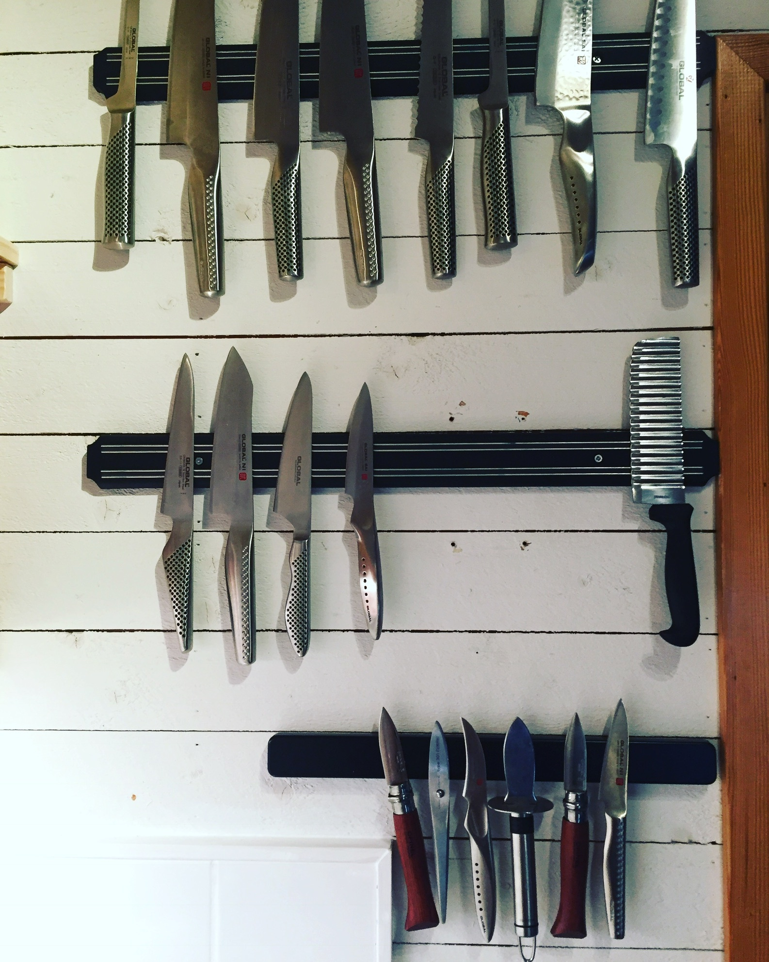 We use Global knives.