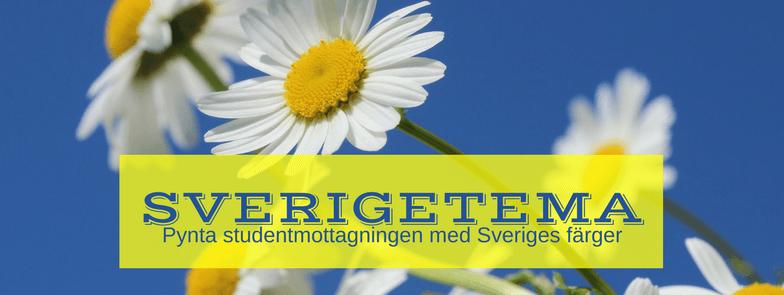 Sverigetema till Studentmottagningen