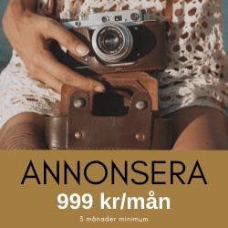 Annonsplats 999 kr/mån