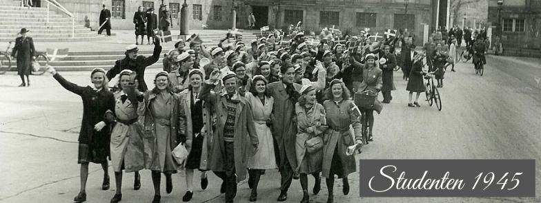Studenten 1945