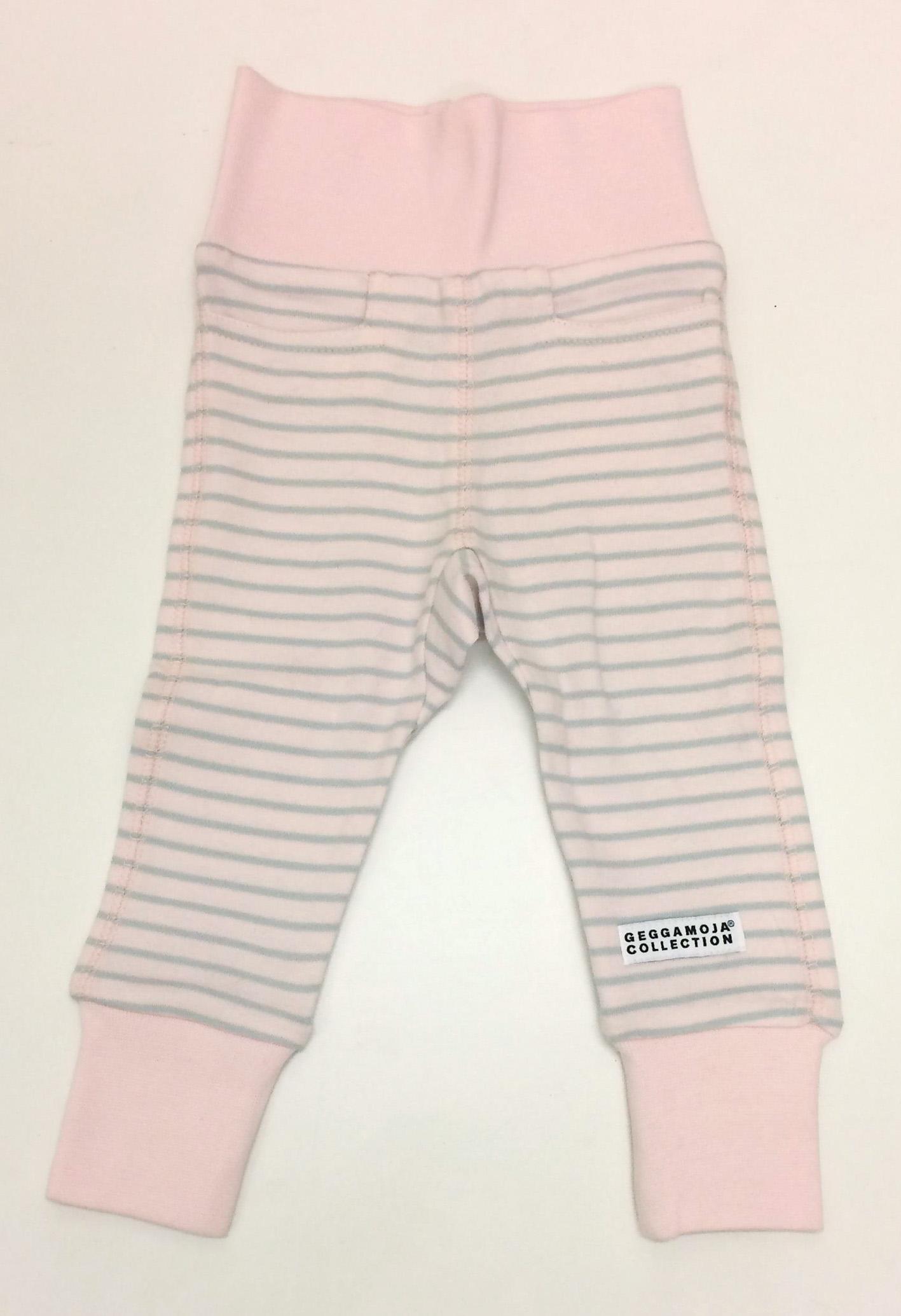 GM bebisbyxor blekrosa-grå