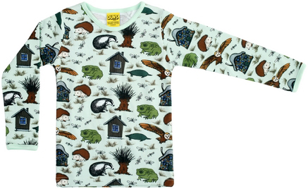 DS långärmad tröja trädgårdsdjur