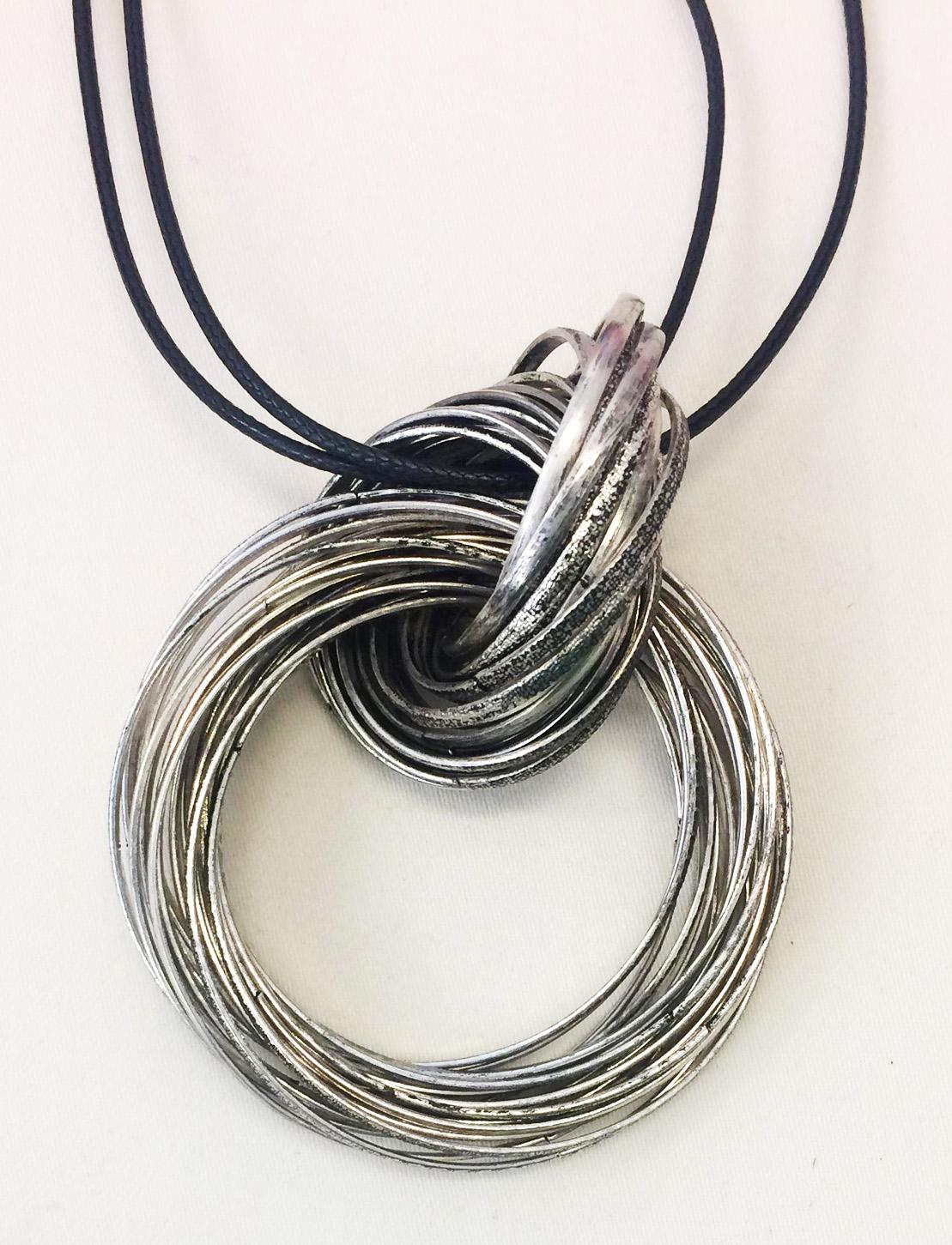 TL Halsband rostfria ringar2
