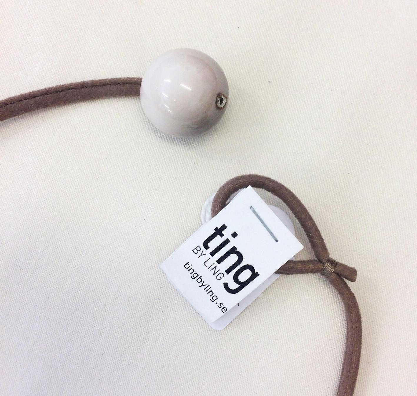 TL Halsband raisinkula stålfjäderringar grå3