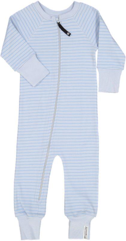 GM pyjamas ljusblårandig