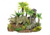 Akvariedekoration Dinousarier/Växt - Dinousarier/Växt - 28x17x20cm